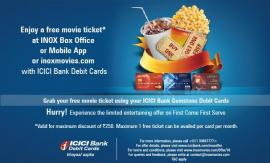 ICICI Bank - Debit Card Buy One Get One Free Offer