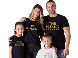 Family tees from PepperClub.in